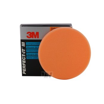 3M -  Polierpad Polierschaum 150 mm 09550 orange
