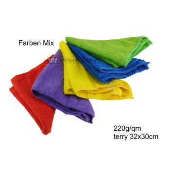 WamSter ECO Mikrofasertuch Faben mix Poliertuch 32 x 30...