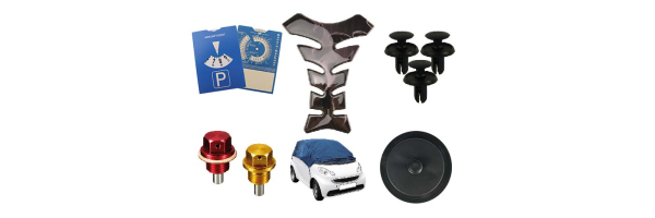 Car and motorcycle accessories