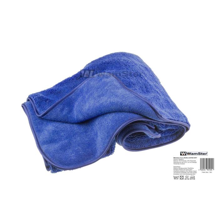 Wamster Mikrofasertuch Frotte Handtuch Blau Soft 600gm2 90cm X 6