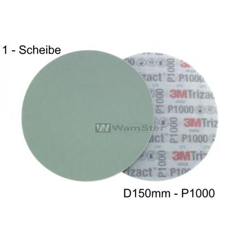 3m Hookit® Trizact® d150 mm - p1000 - fine...