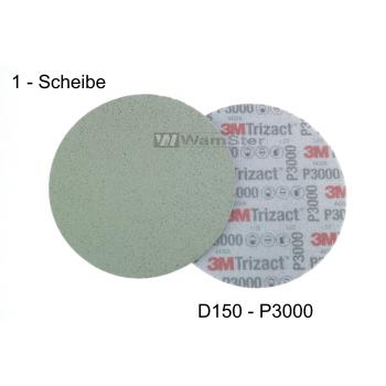 3m Hookit® Trizact® d150 mm - p3000 - fine...