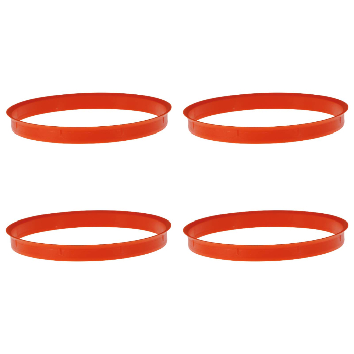 4 x Zentrierring 110,0 mm x 108,0 mm orange