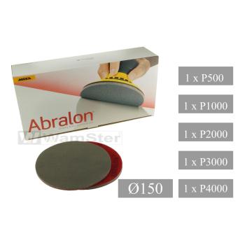 5 x Abralon grinding wheel d 150 mm - p500 p1000 p2000...