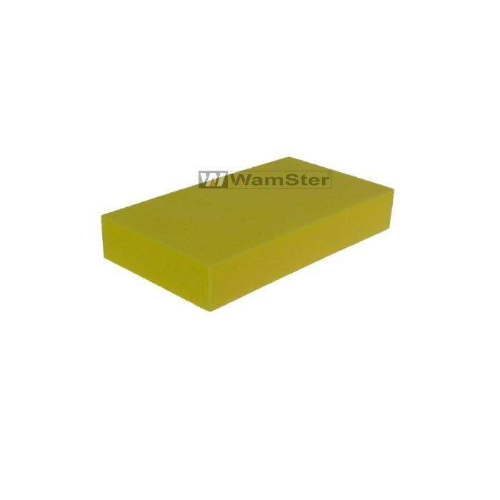 62mm//114mm//18mm Schleifklotz Wamster kurz- gelb Schleifblock