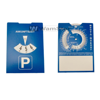Europe parking disc parking meter with fuel calculator...