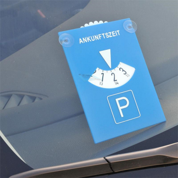 Europa parking disc with suction cup plastic neutral...