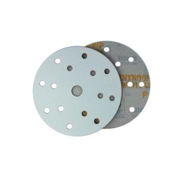 Indasa WhiteLine d150 grinding wheel Rhynogrip 15-hole