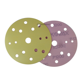 Kovax Yellow Film d150 Foil Disc Dry Grinding 15-Hole