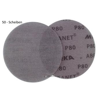 50 x Abranet d150 mm - p80 Abrasive net grinding wheel