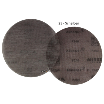 25 x Abranet d150 mm - p240 Abrasive net grinding wheel